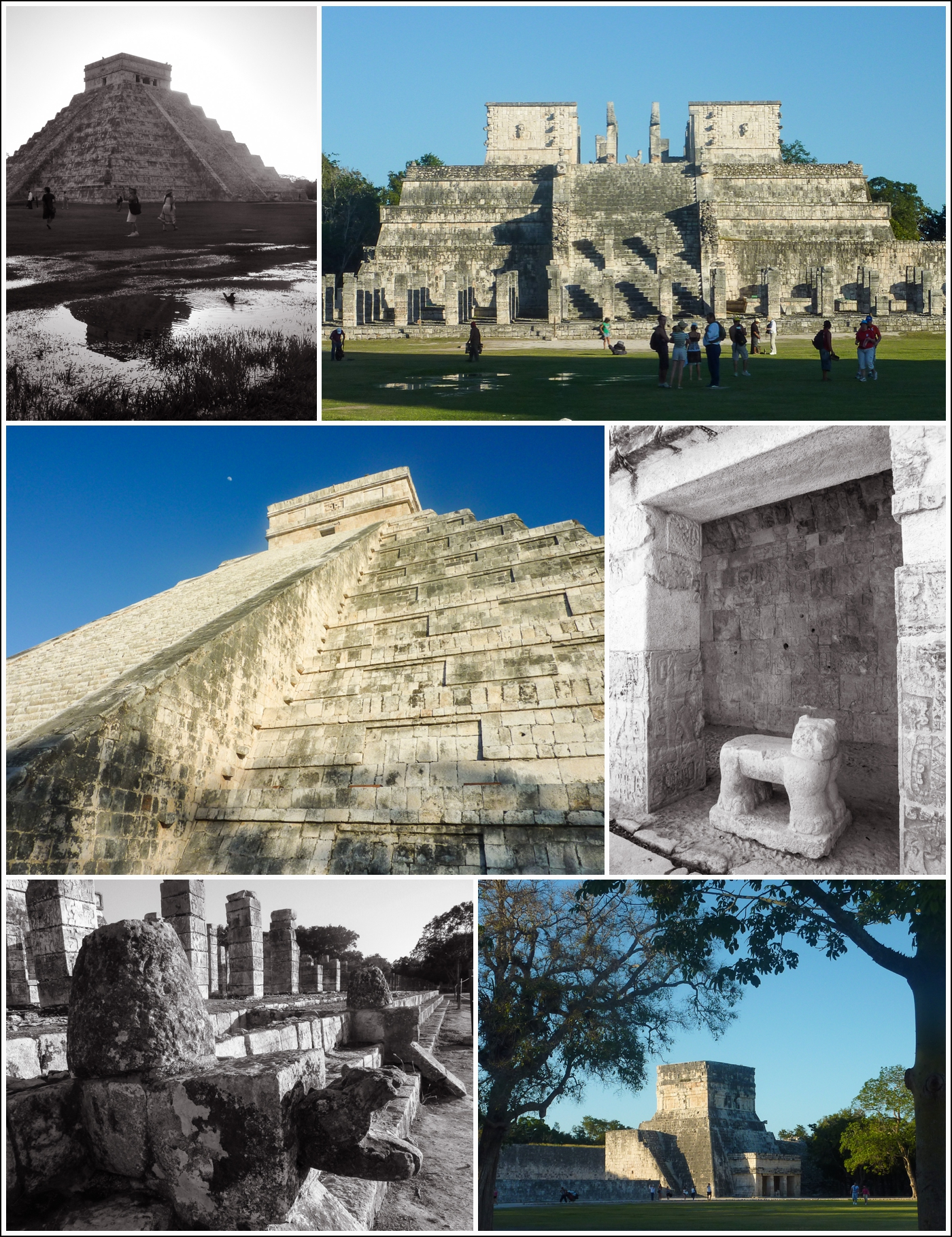Chichen Itza mayaruin i Mexico