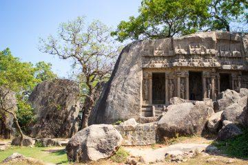 gamle templer i mamallapuram