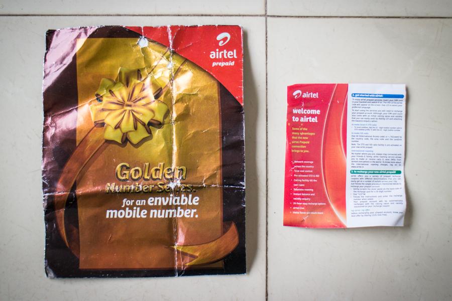 Airtel-SIM-card