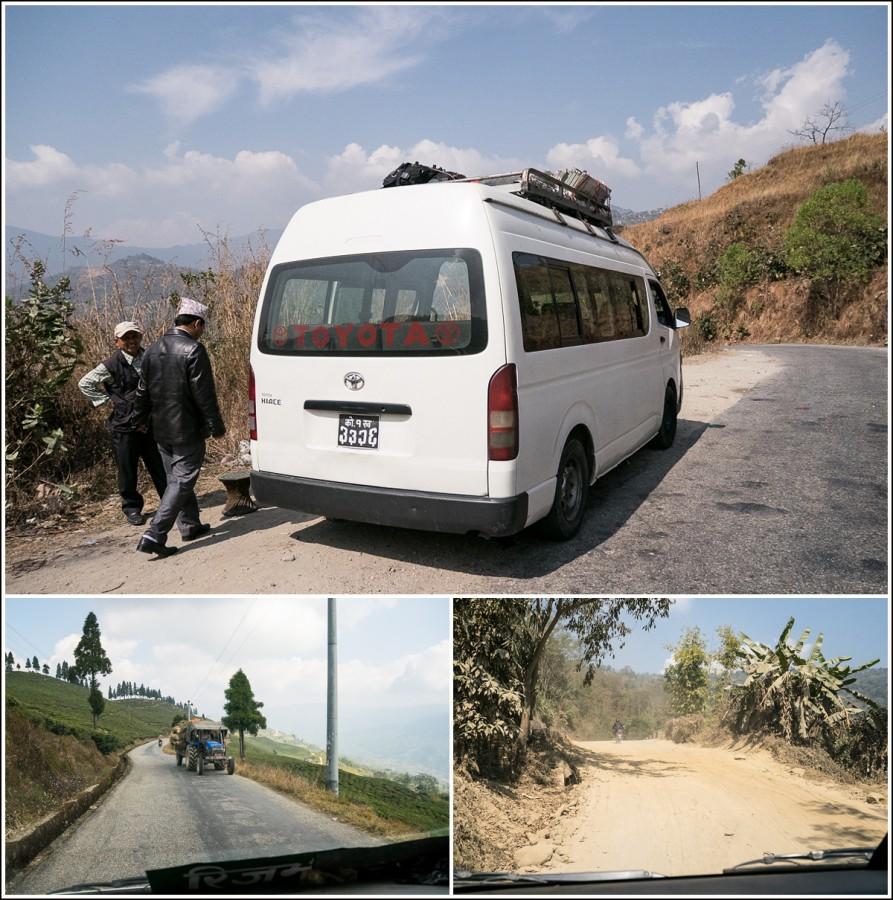 nepal-minibus-road