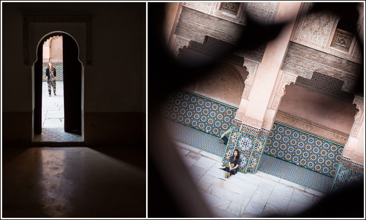 Ben-Youssef-Medersa-Marrakech-doorways
