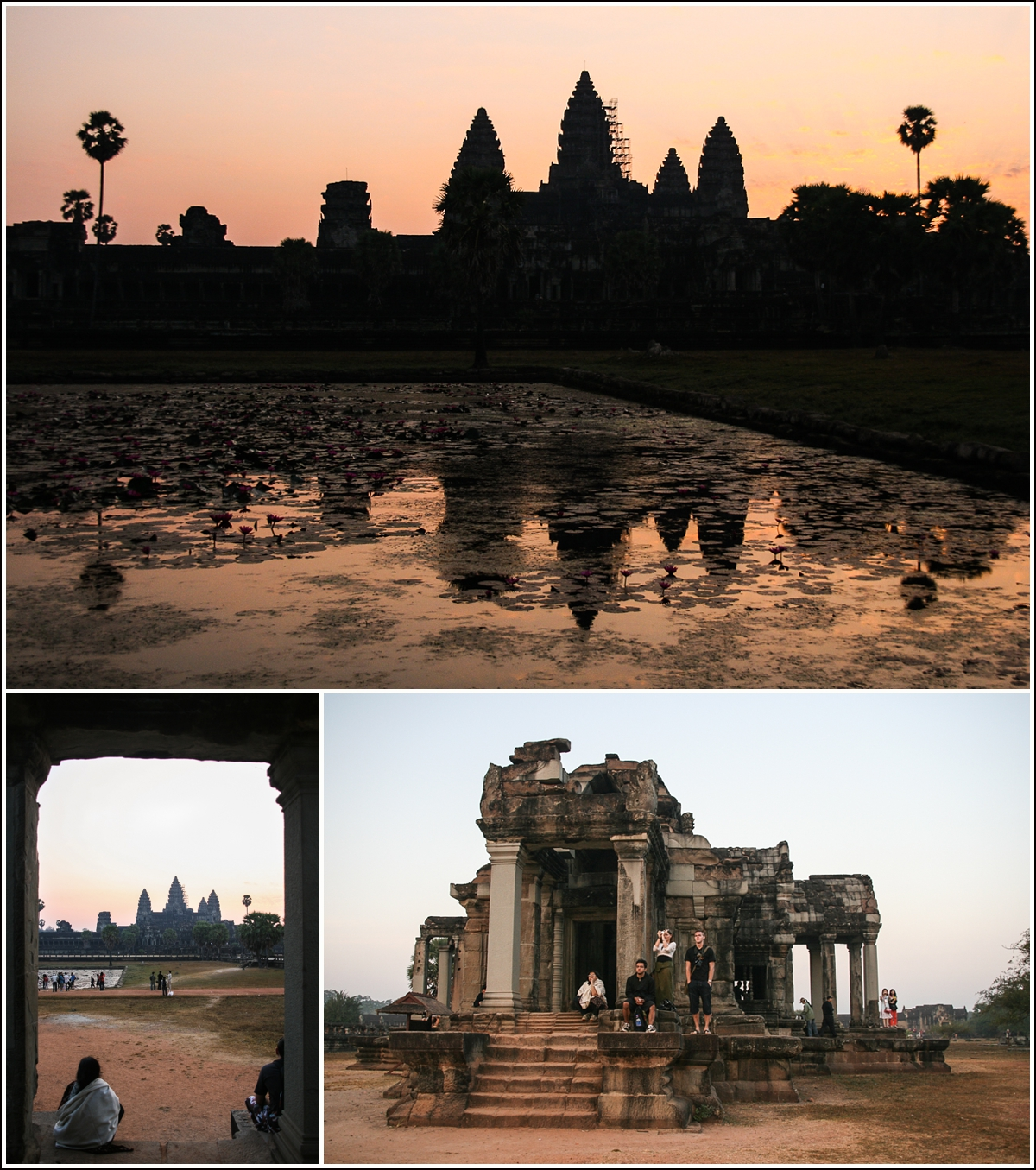 angkor-wat-watching-sunrise