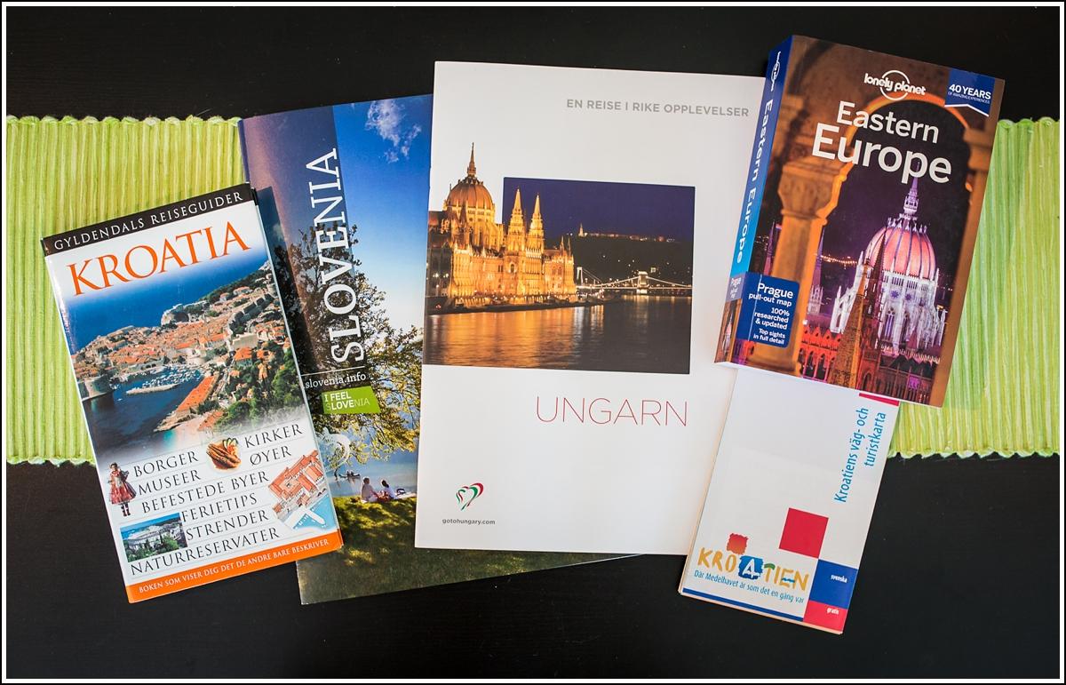 guidebok-brosjyrer-kroatia-ungarn-slovenia