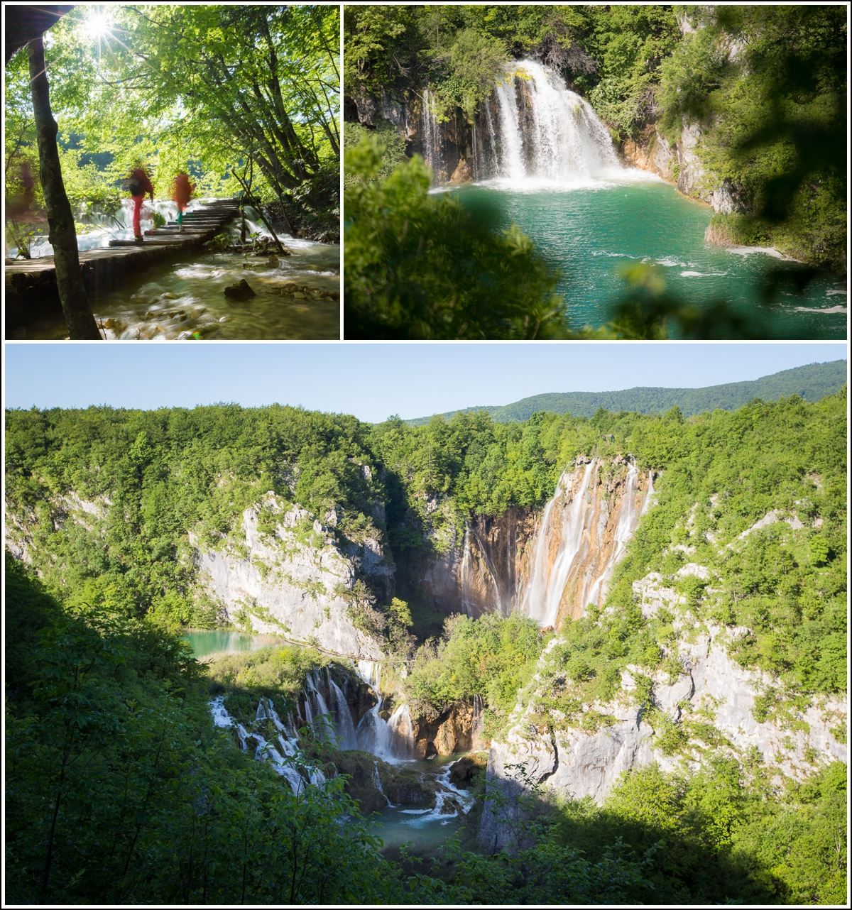 Plitvice-Croatia-view-waterfall