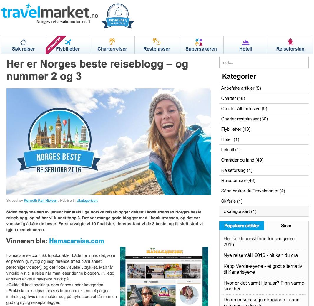 norges-beste-reiseblogg-hamacareise