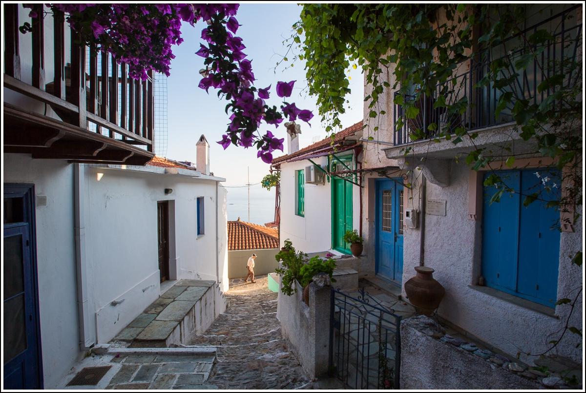 Glossa-Skopelos-street