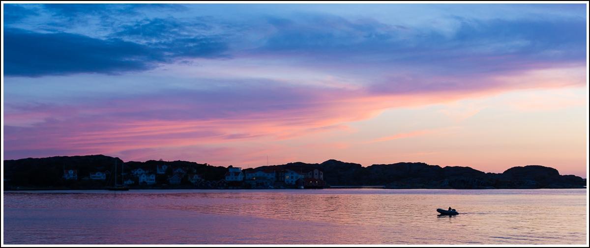 Fiskebäckskil-solnedgang