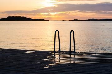 Sommeridyll-Skaftø-ved-Lysekil-Sverige