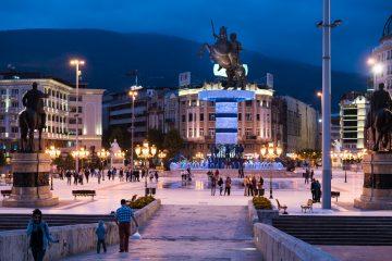 Skopje oppdagelser og attraksjoner i Makedonia