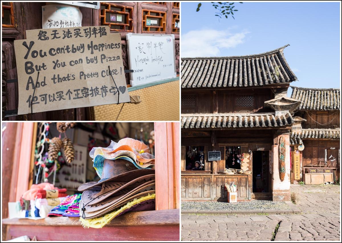 arkitekturen i gamlebyen i Shaxi