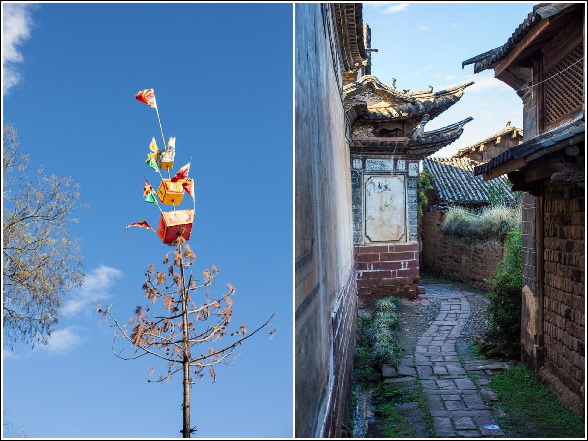 vandring i gamlebyen i Shaxi