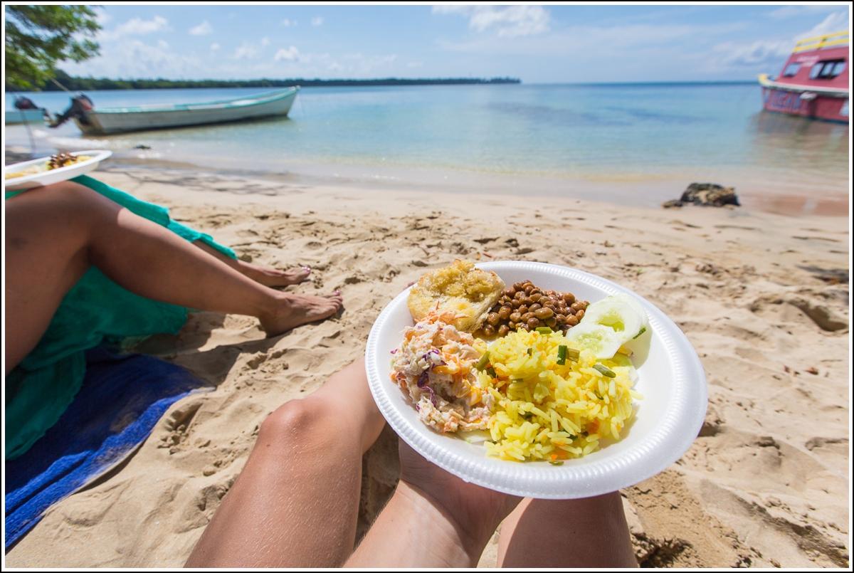 mat på stranda på pigeon point trinidad og tobago