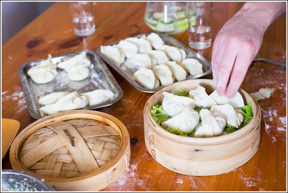 dumplings matlagingskurs i kina
