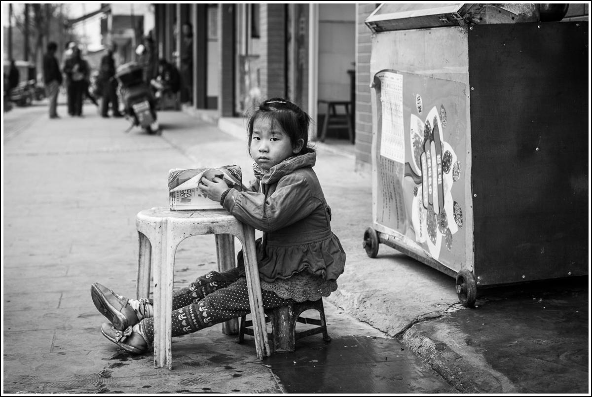gatefotografering i kina