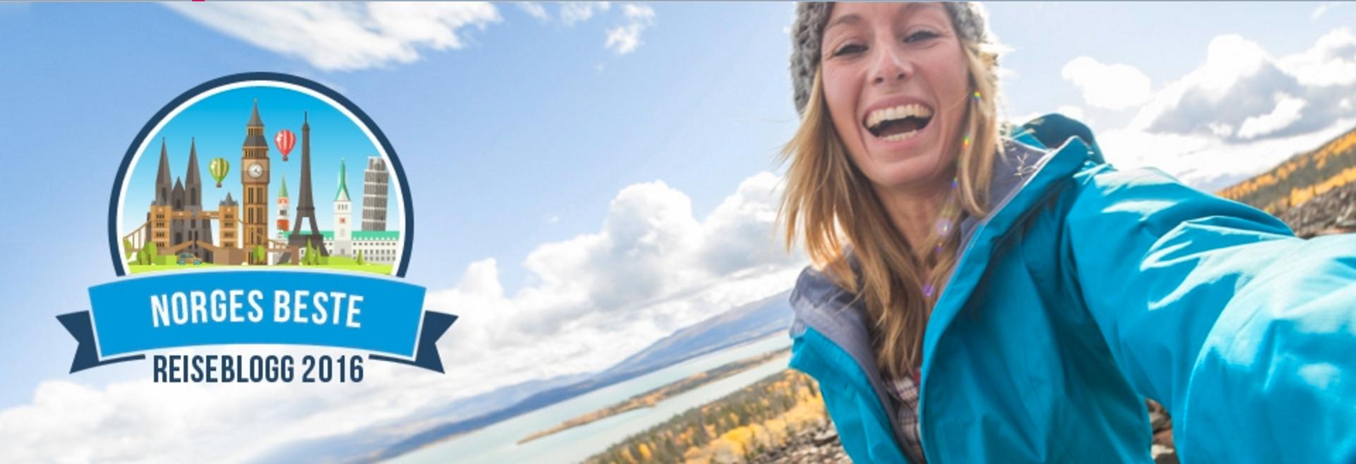 Hamacareise kåret til Norges beste reiseblogg 2016