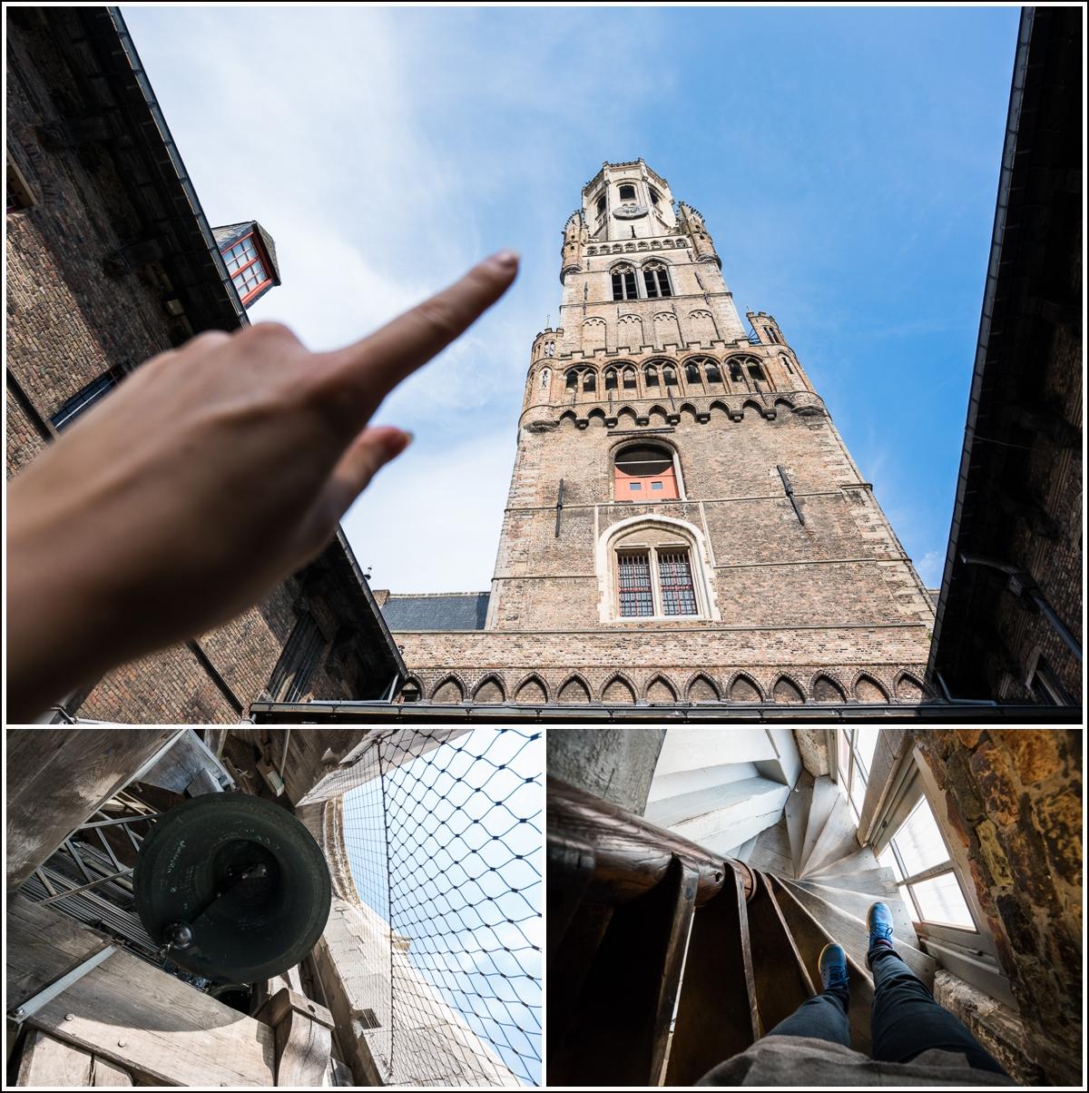 belfort tårn i brugge