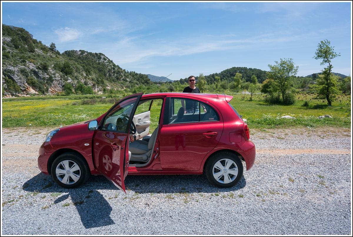 leiebil og kjøring i tyrkia