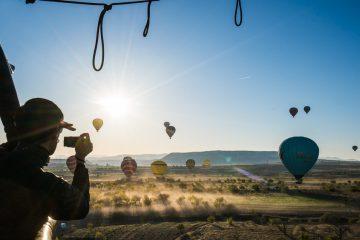 luftballong i kappadokia