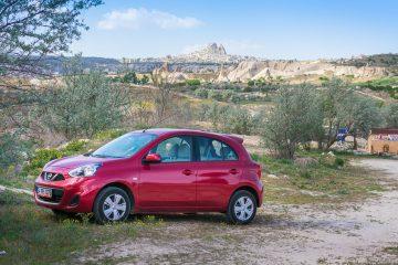 hvordan leie bil og kjøre bil i Tyrkia