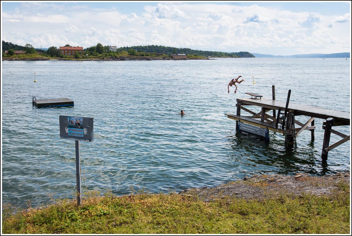 bade på lindøya