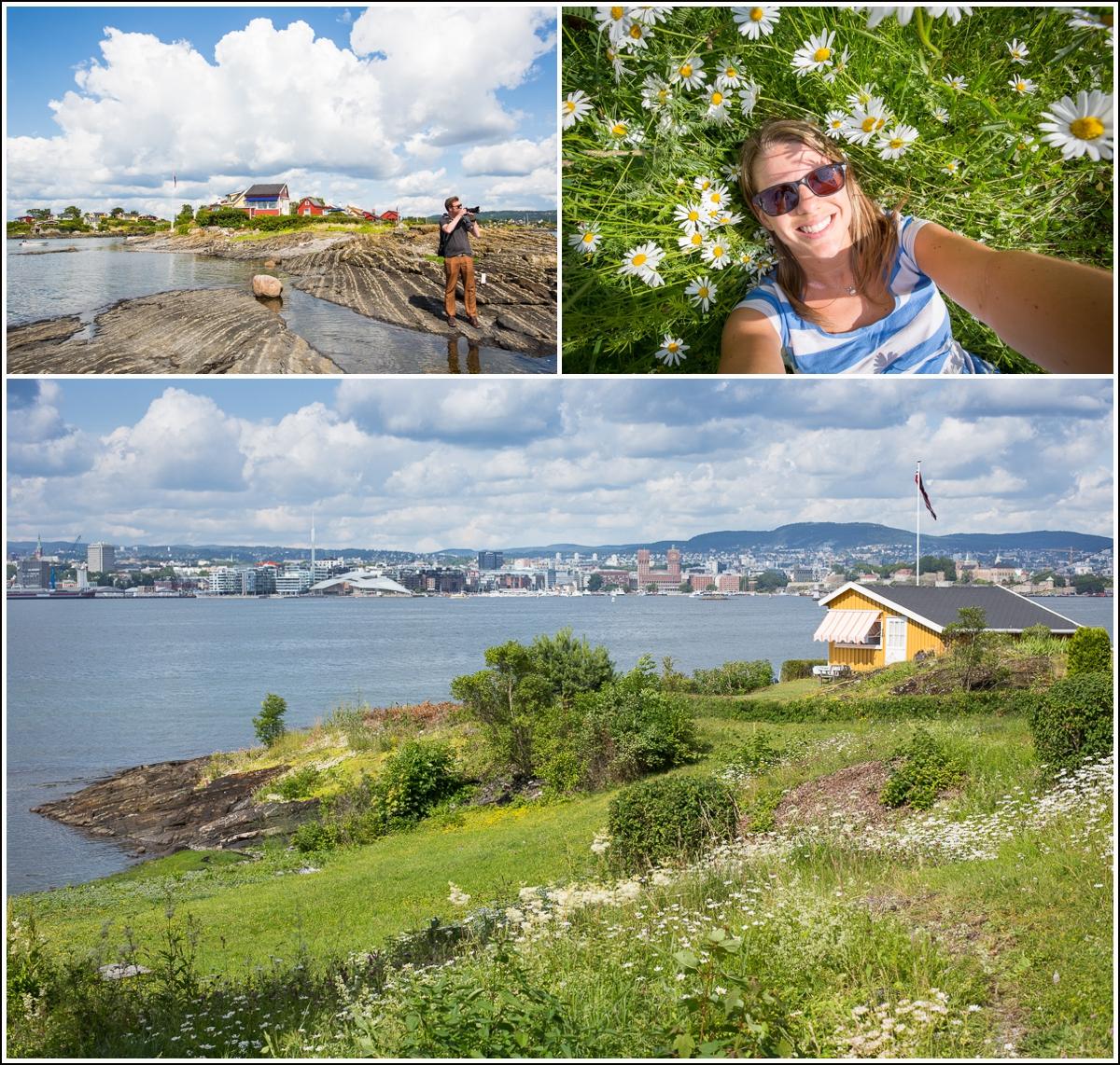 Utsikt fra Lindøya til Oslo sentrum