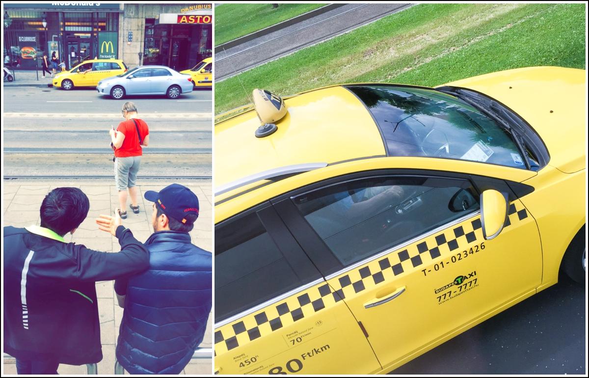 taxi i budapest