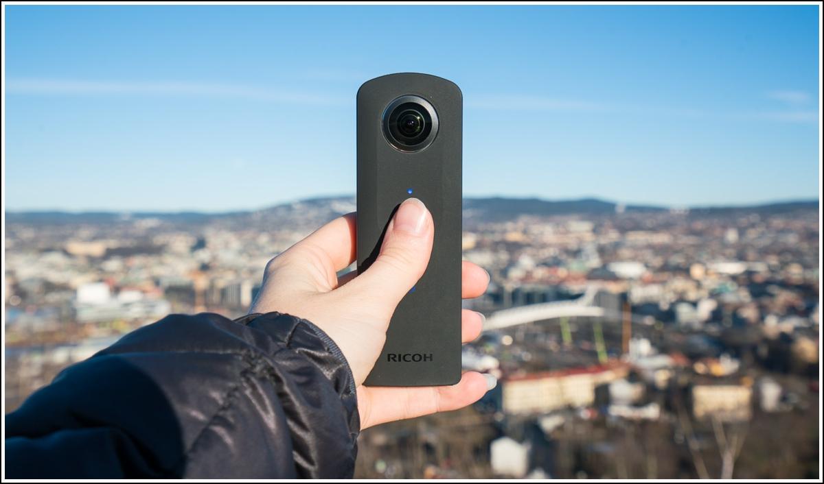 Theta-360-kamera
