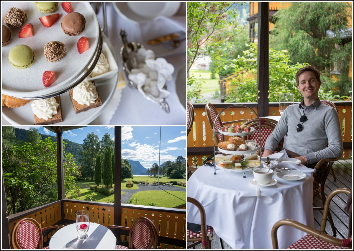 Afternoon Tea på Dalen Hotel