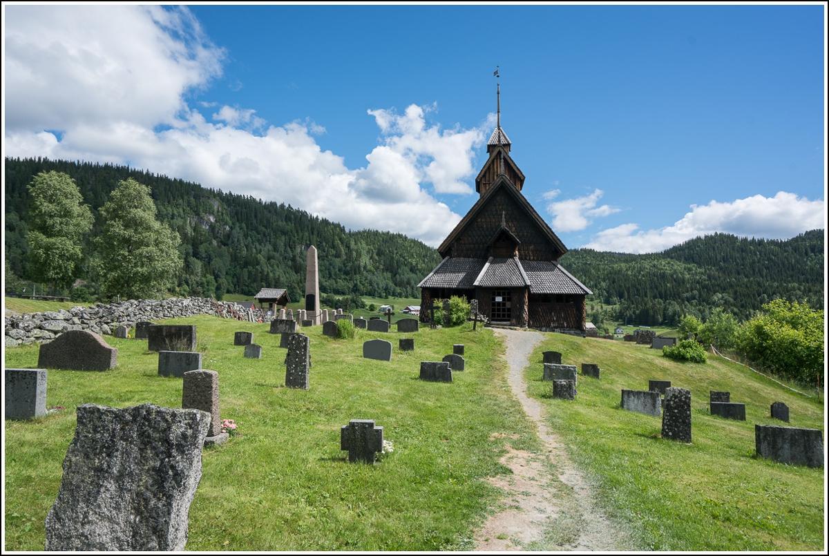 Eidsborg stavkirke - Norges nest minste