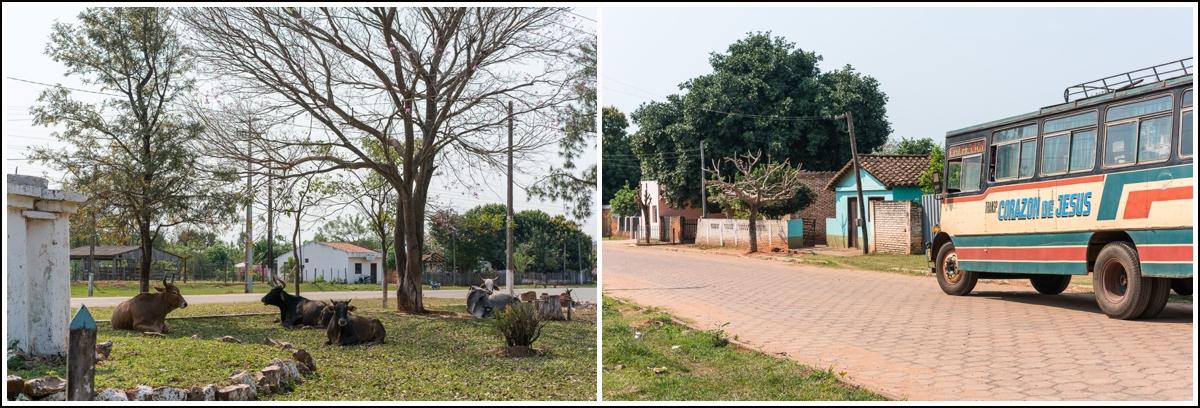 På landsbygda i Paraguay