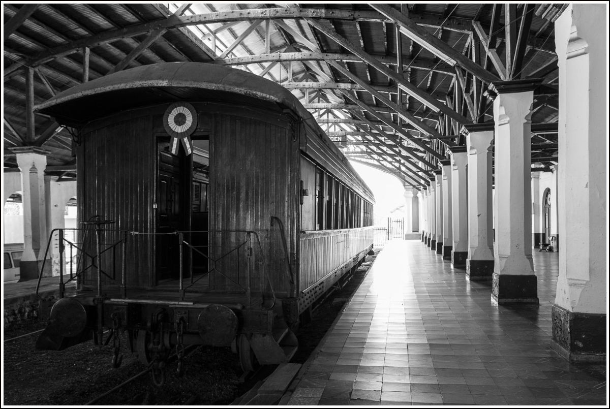 Togmuseum i Asuncion Paraguay