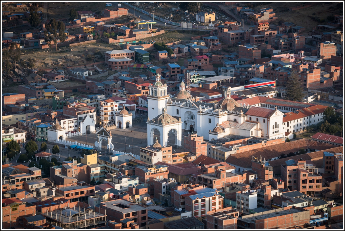 Cathedral in Copacabana Bolivia