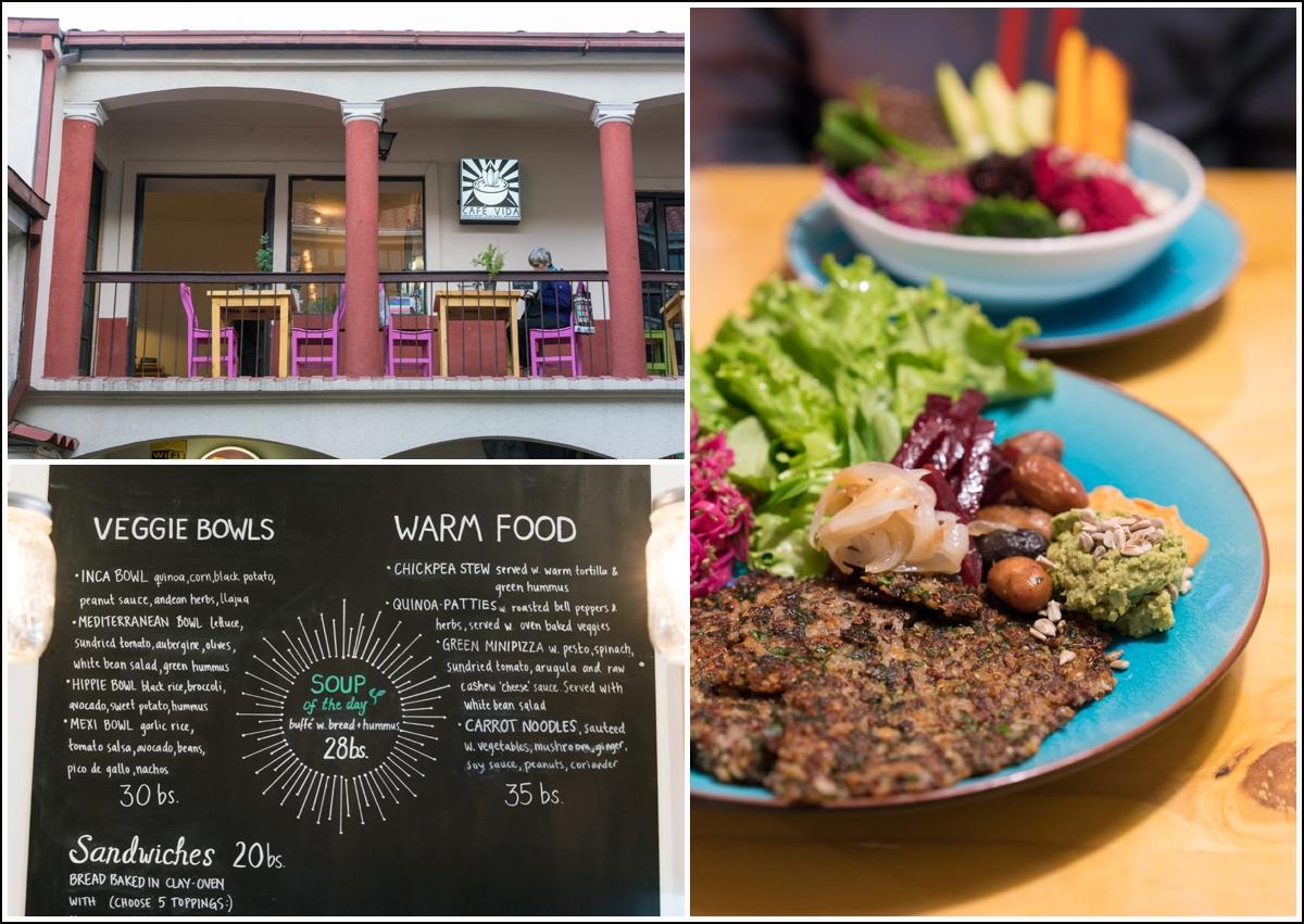 Cafe Vida den beste veganrestauranten i La Paz