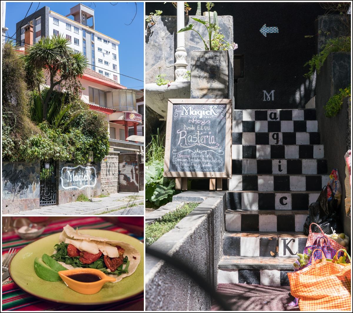 MagicK restaurant i La Paz