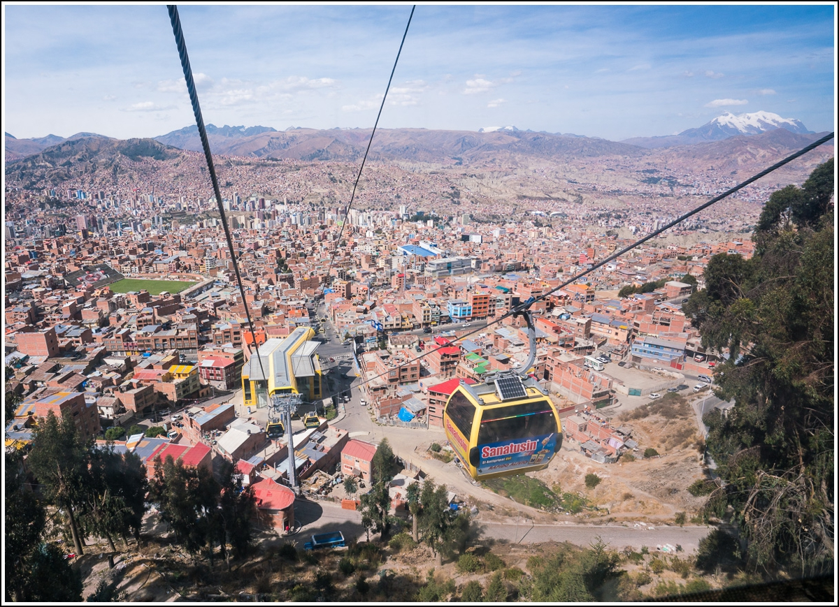 la paz hovedstad i Bolivia