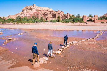 ait ben haddou vakkert unesco kasbah i marokko