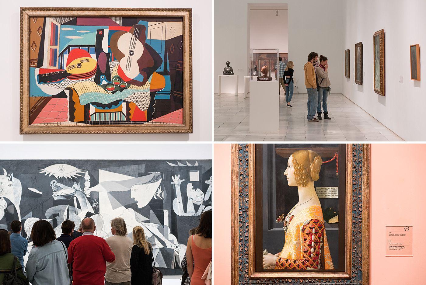kunstmuseum i madrid spania