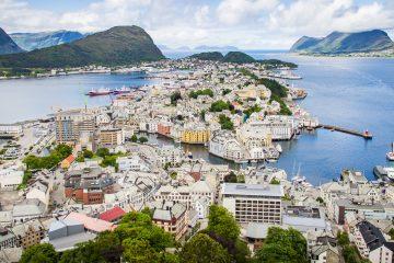 Ålesund panoramautsikt