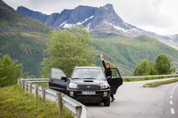 dra på bilferie i norge