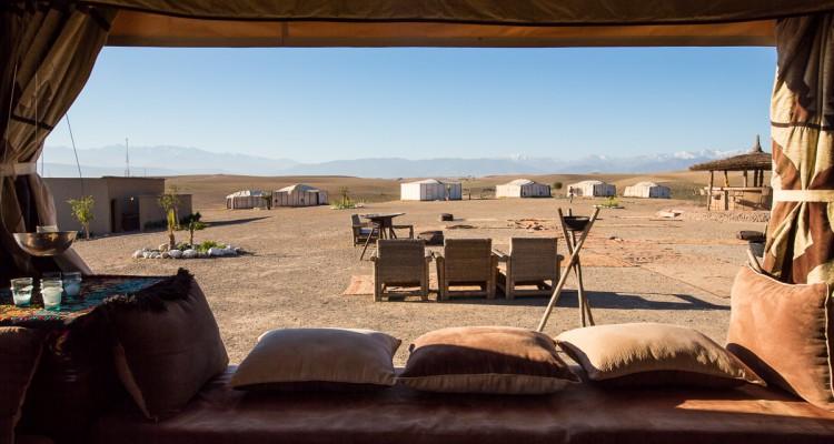 luksus i ørkenen i marokko