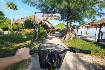 Gili Air øyparadis i Indonesia