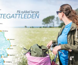 sykkeltur langs kattegattleden i Sverige