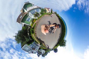Ta bilde av hele verden med Theta S 360-kamera