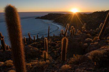 Salar de Uyuni verdens største saltslette i Bolivia