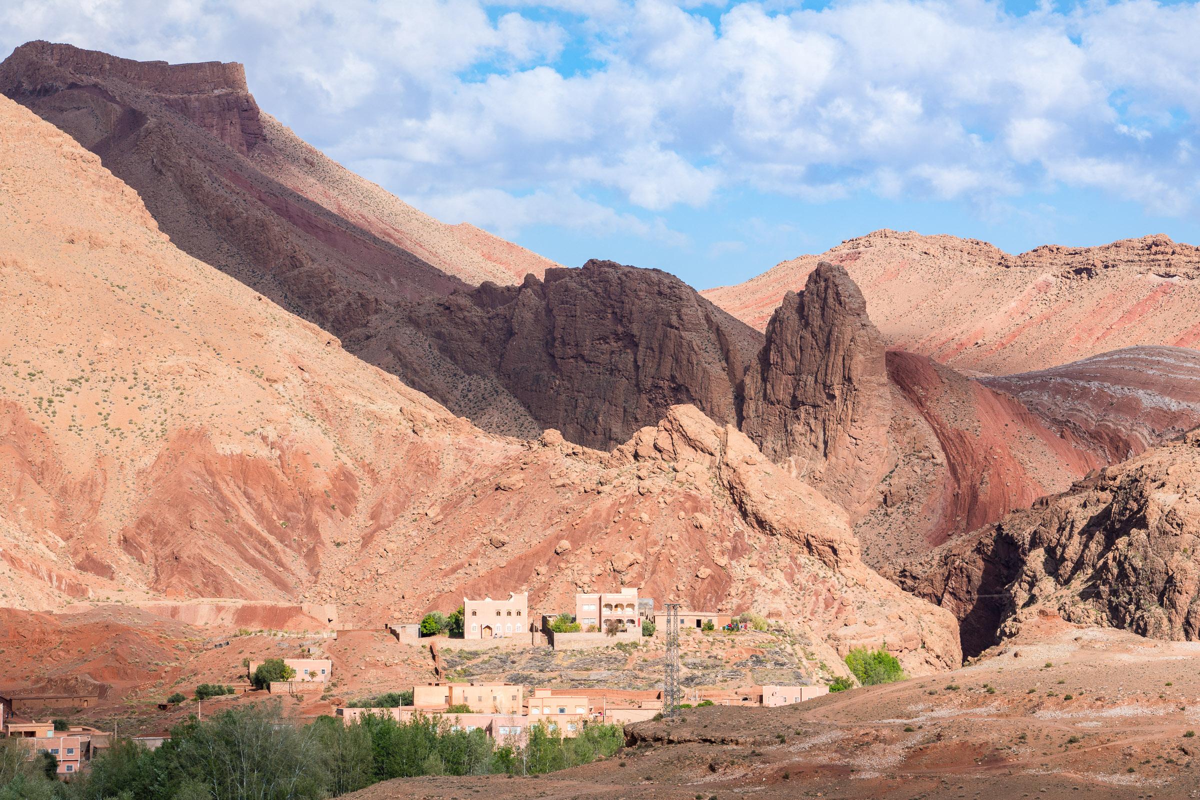 Dades-Gorges-biltur-Marokko
